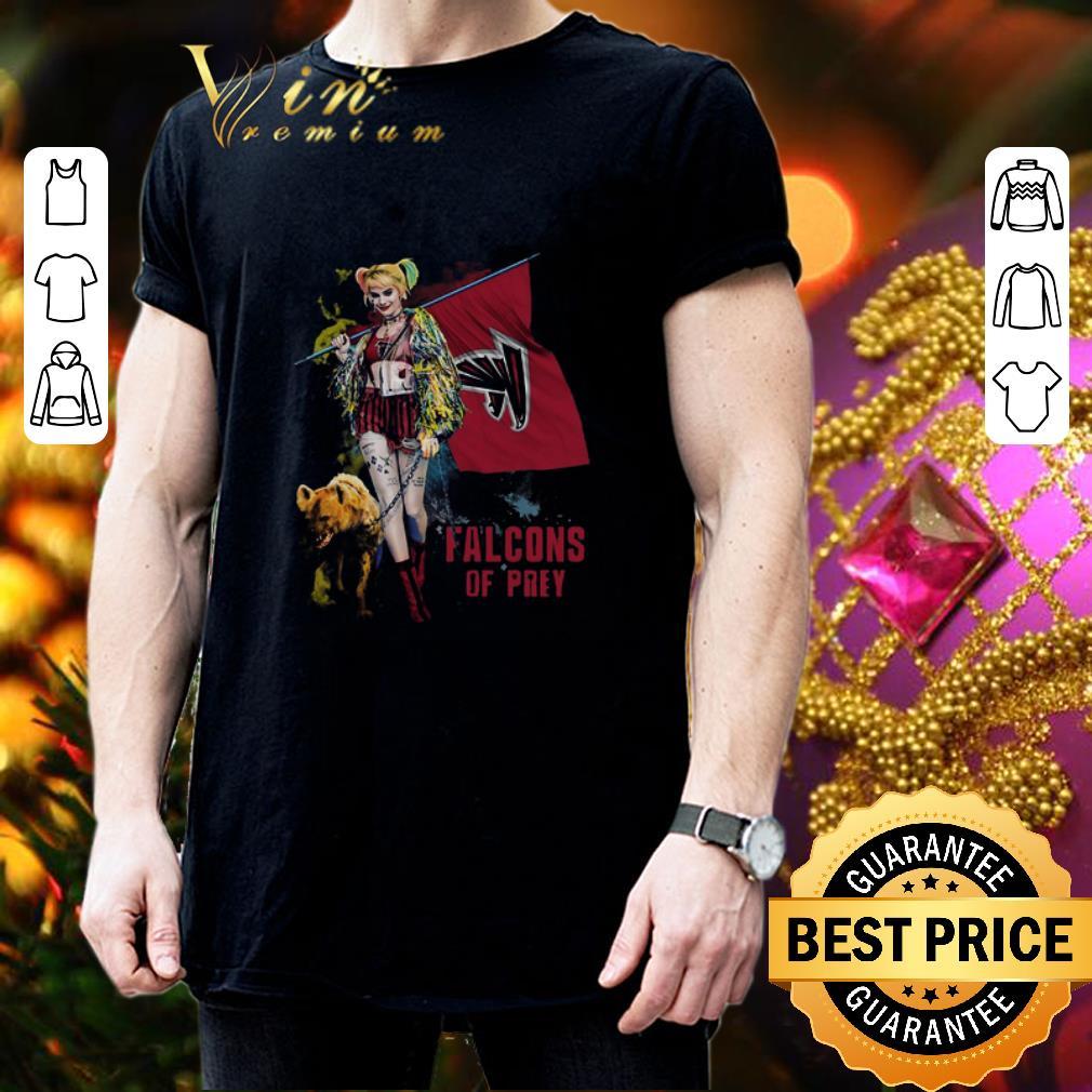 Harley Quinn Flag Atlanta Falcons Of Prey shirt 3