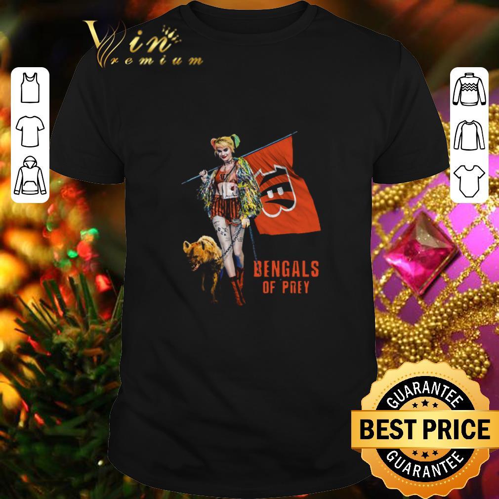 - Harley Quinn Flag Cincinnati Bengals Of Prey shirt