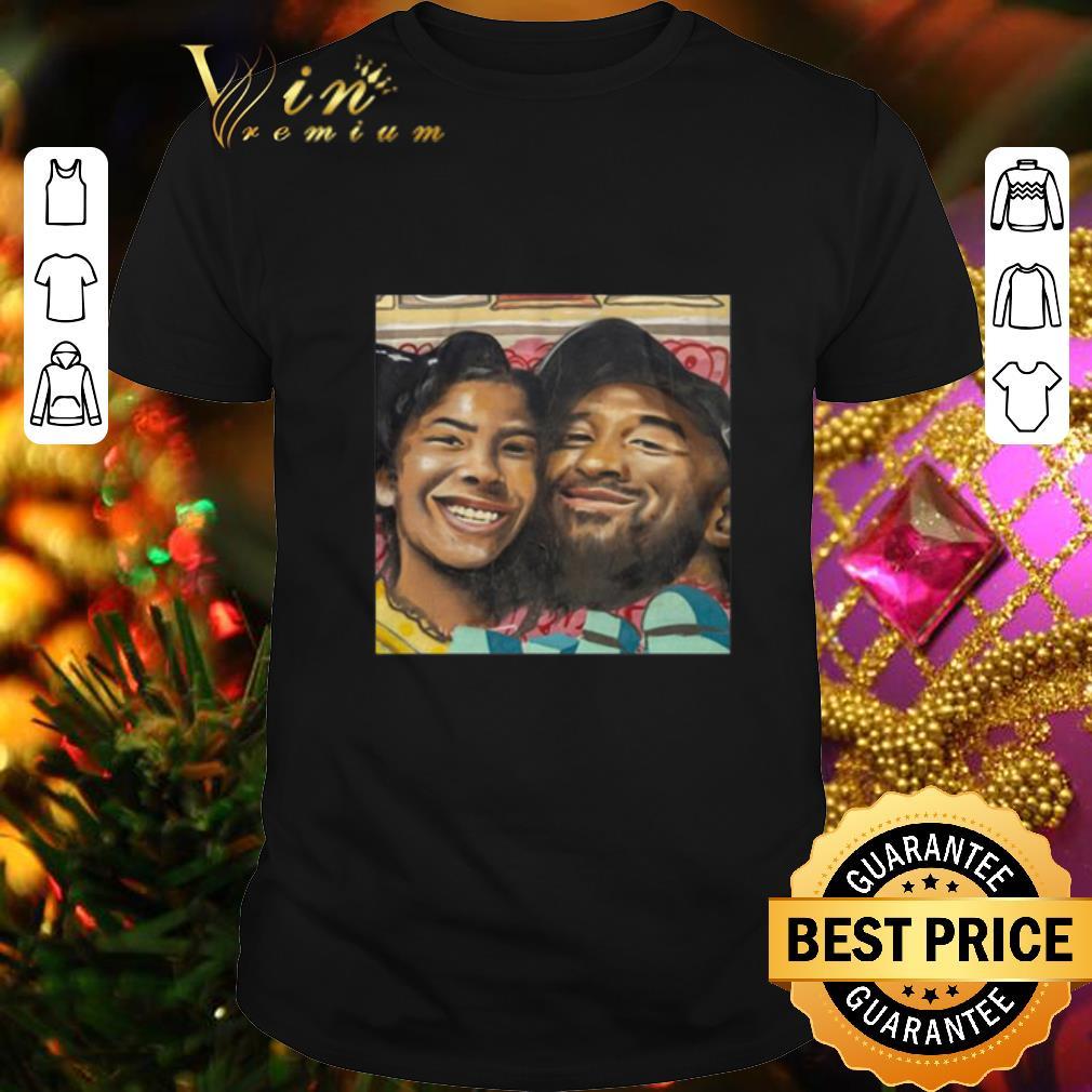- Kobe Bryant and Gigi Bryant Cartoon Family Love shirt
