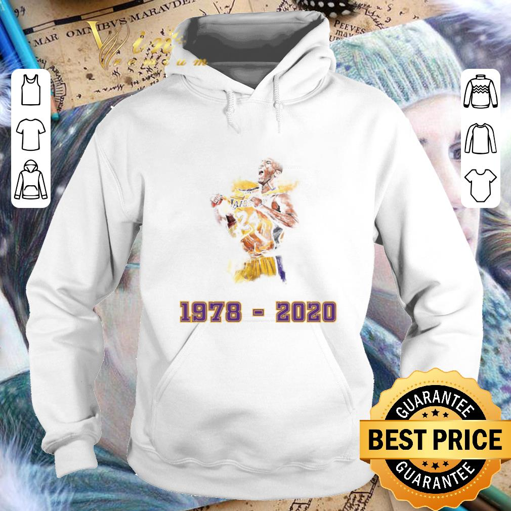 - Lakers 24 Kobe Bryant 1978 - 2020 Los Angeles Lakers shirt