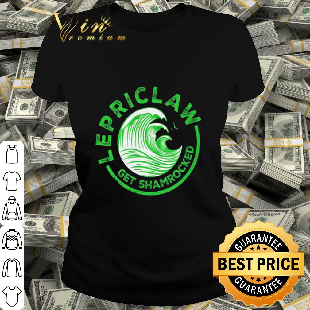 Lepriclaw Get Shamrocked White Claw St. Patrick's day shirt