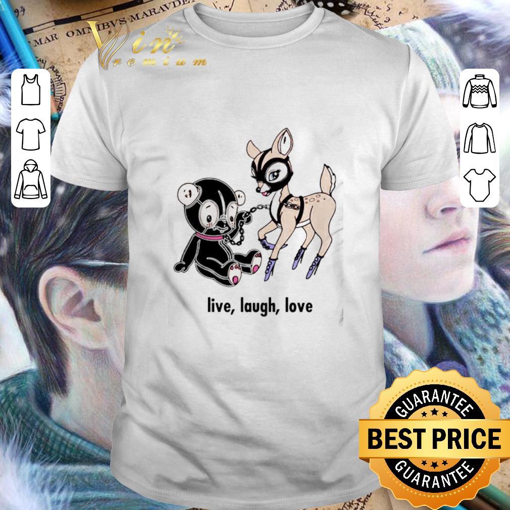 Live laugh love Valentine day shirt 1
