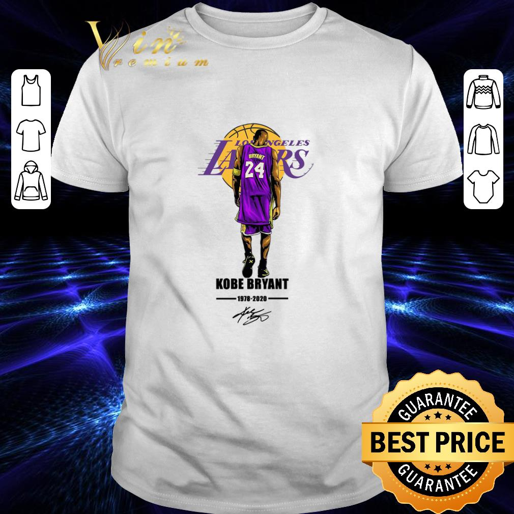 Clickbuypro Unisex Tshirt Los Angeles Lakers 24 Rip Kobe Bryant 1978 2020 Signature Shirt Hoodie Forest Green 4xl