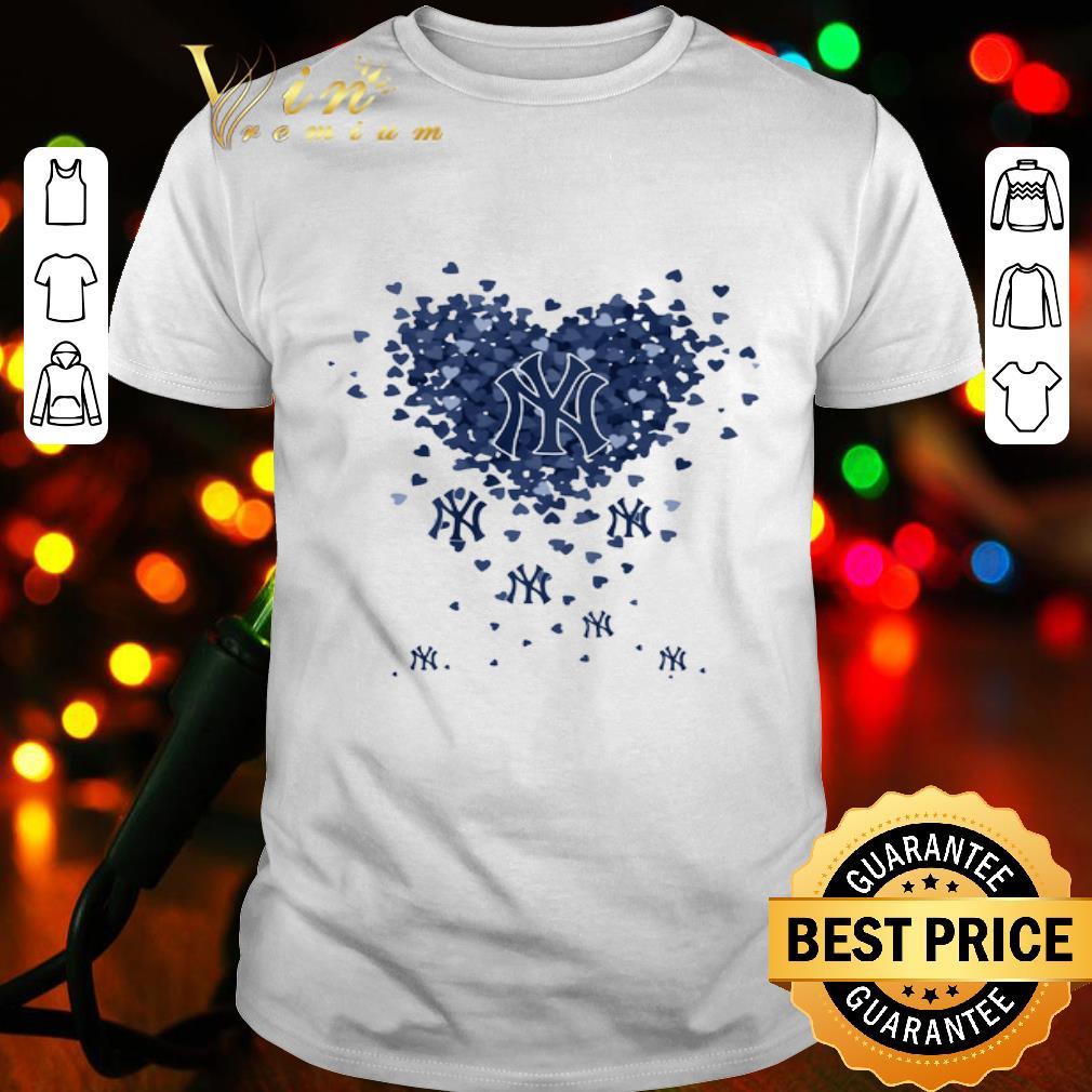 Love New York Yankees Tiny Hearts Shape shirt