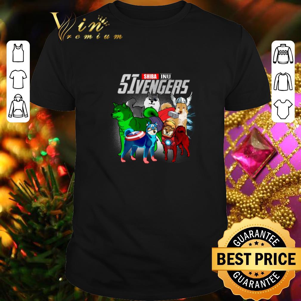 - Marvel Shiba Inu SIvengers Avengers Endgame shirt