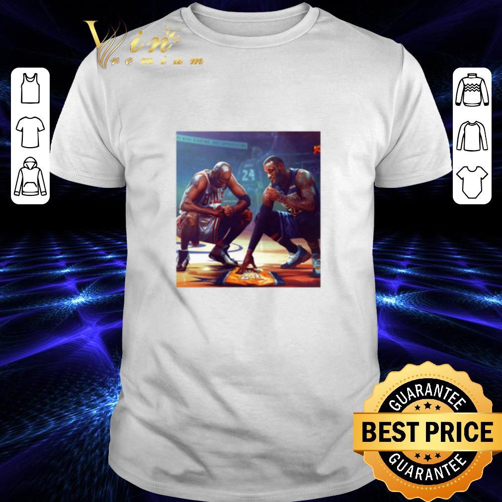 - Michael Jordan Lebron James RIP Kobe Bryant shirt