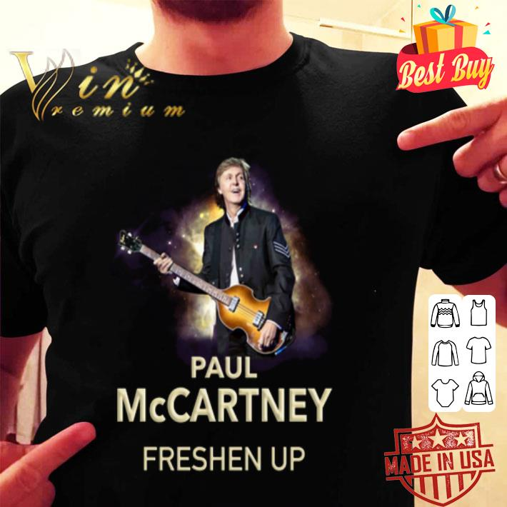 paul mccartney freshen up concert tour shirt hoodie sweater