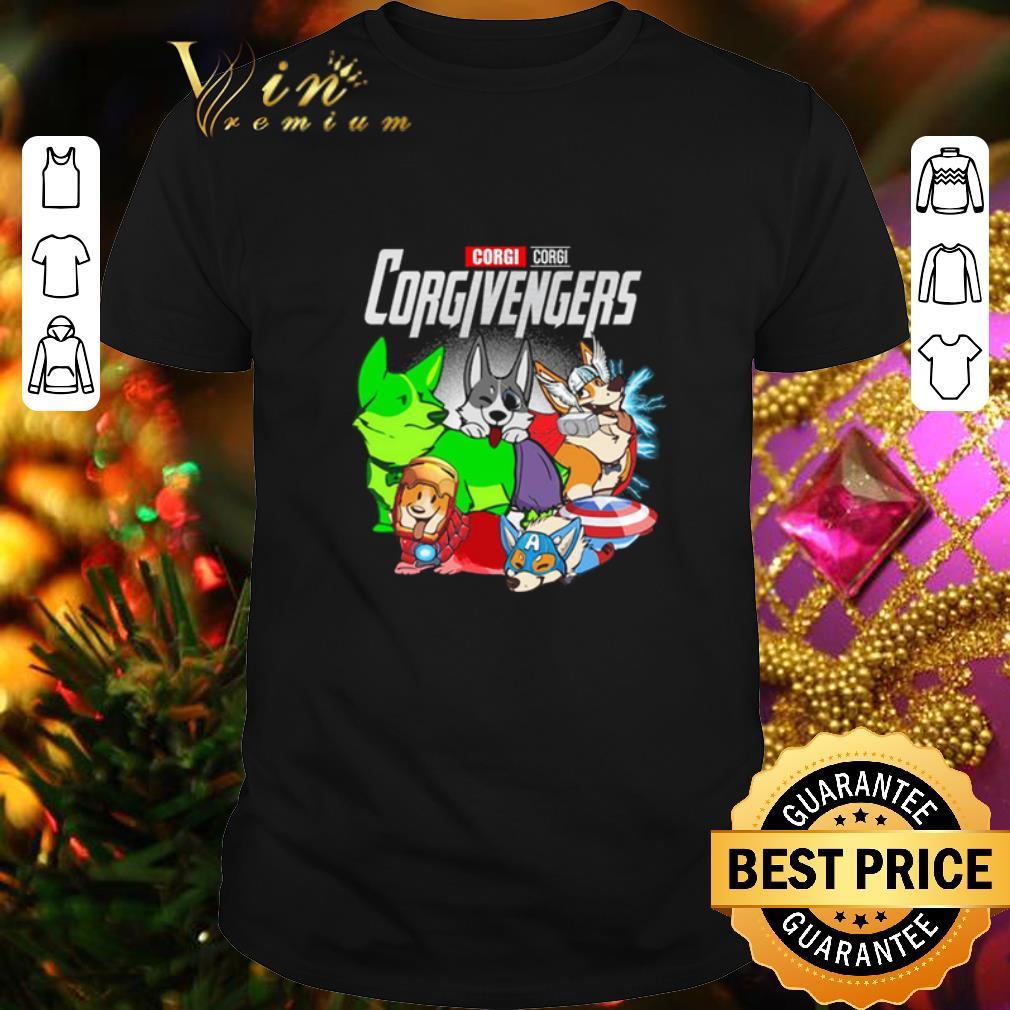 - Pembroke Welsh Corgi Corgivengers Avengers Endgame shirt
