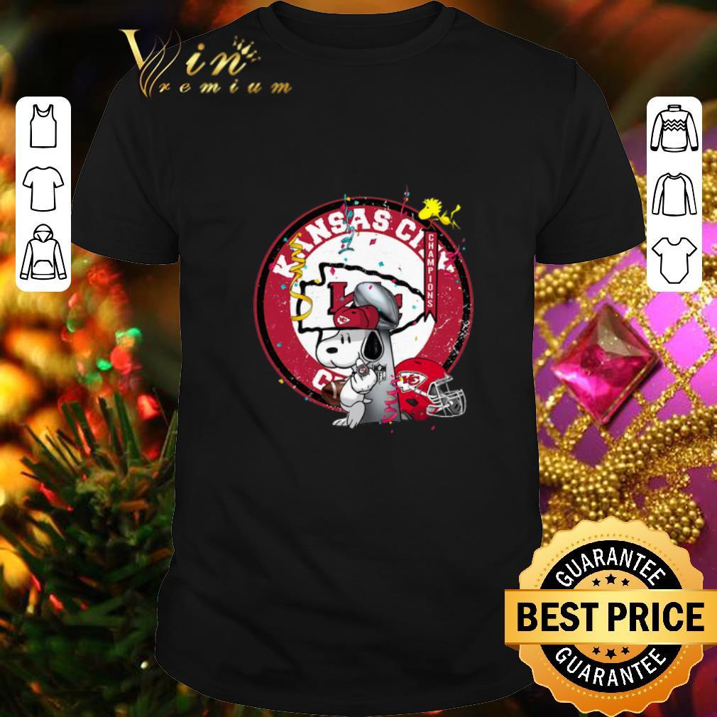 - Snoopy Mashup Kansas City Chiefs Super Bowl Champions shirt