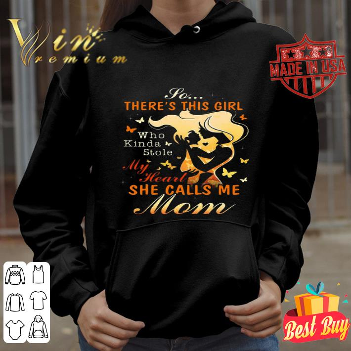 There/'s This Girl Who Stole My Heart Hoodie Daddy /& Daughter Matching Hoody