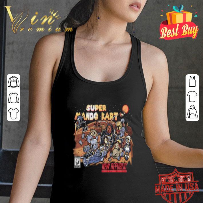 Super mario kart new republic The Mandalorian shirt