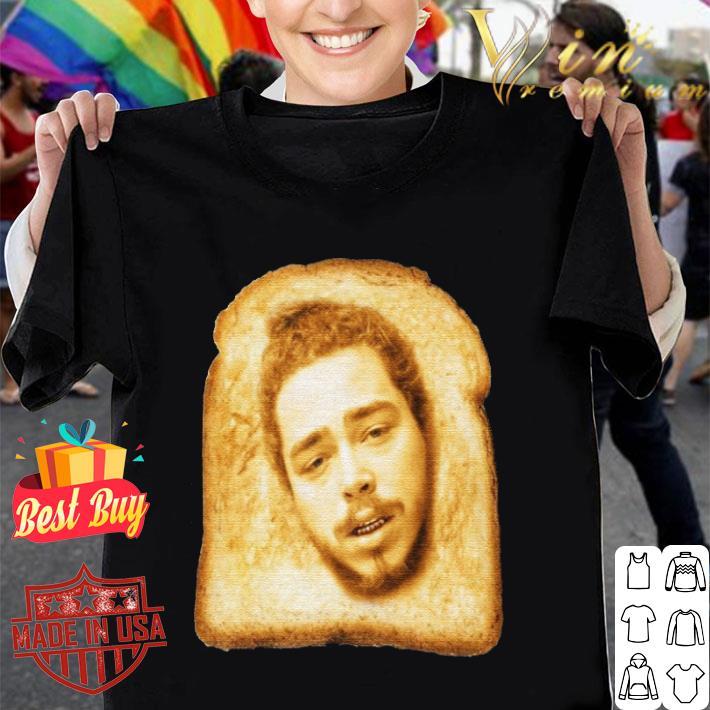 Toast mashup Post Malone shirt