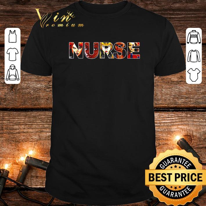- Women superheroes Marvel Nurse shirt