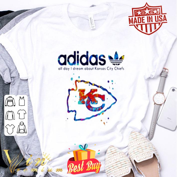 adidas all day i dream about Kansas City Chiefs Champions shirt
