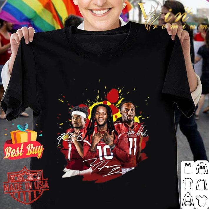 - Arizona Cardinals signatures Kyler Murray Larry Fitzgerald Jr. shirt