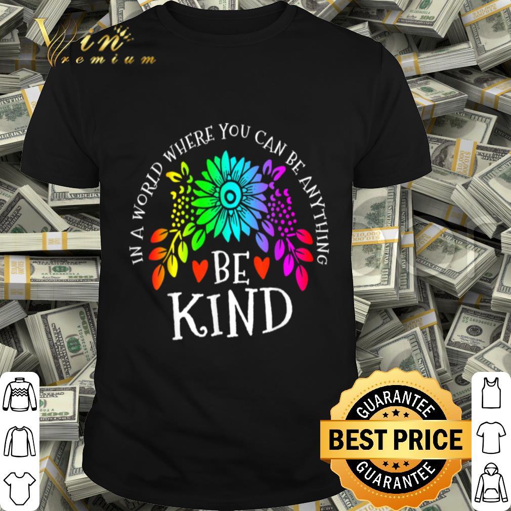 Autism Awareness Be Kind shirt