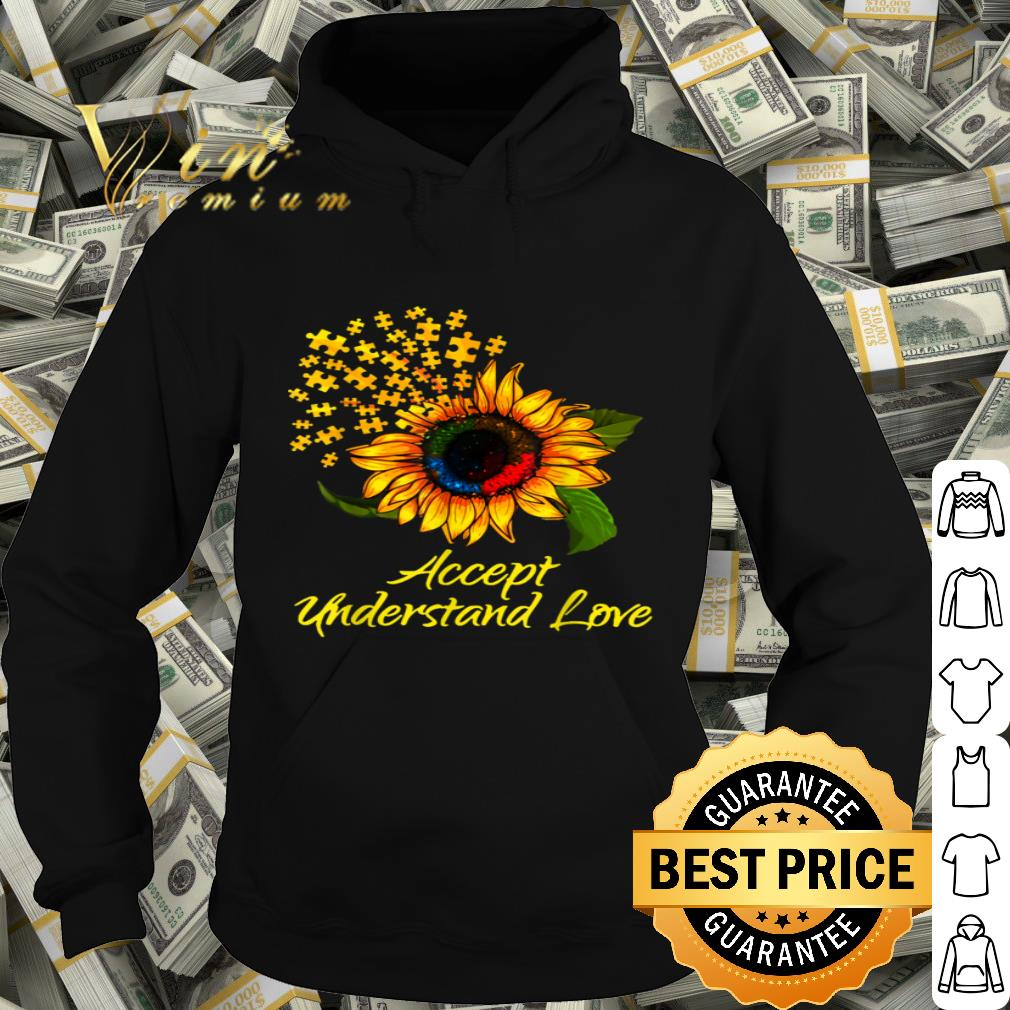 Autism Shirts for Kids Autism Awareness Tshirts Accept Understand Love Kids Gift