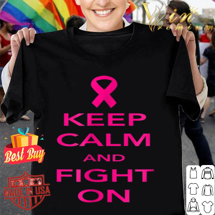 Breast Cancer Picked The Wrong One Pink Ribbon shirt