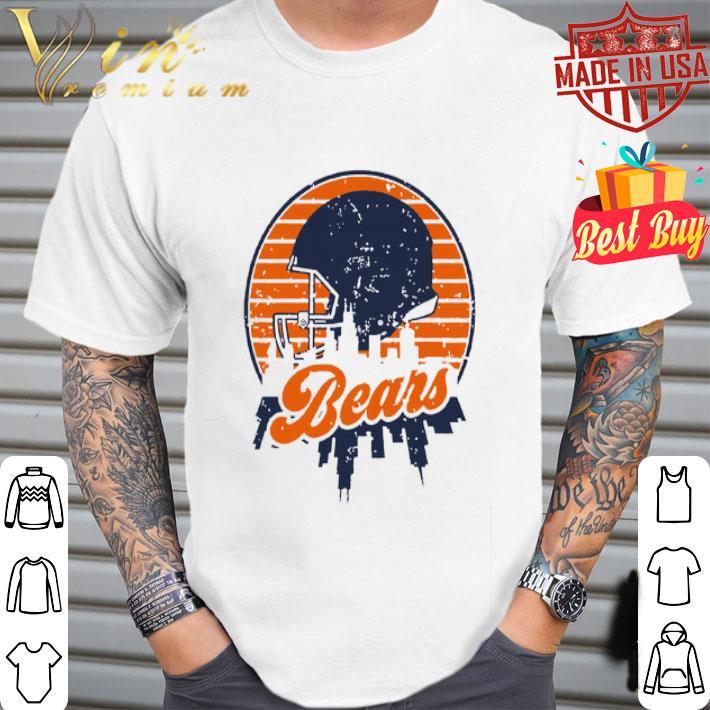 - Chicago Bears Football Skyline Retro shirt