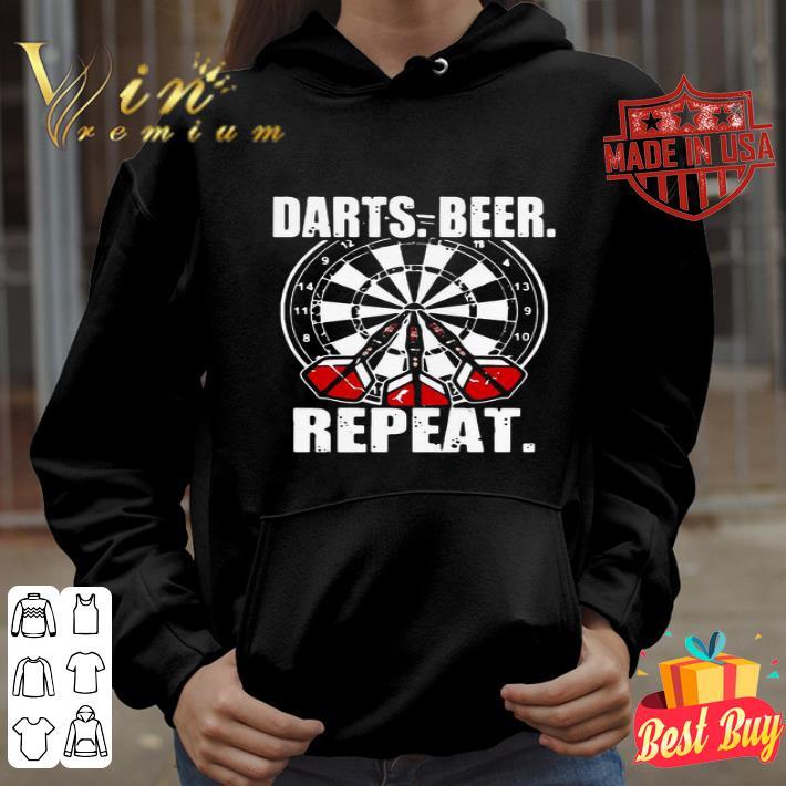 Darts Beer Repeat 2020 shirt