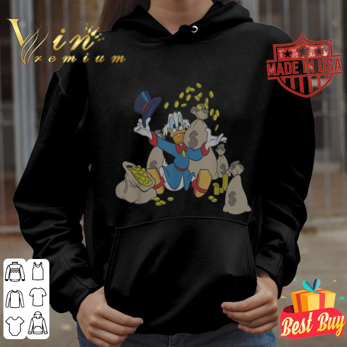 Disney Ducktales Scrooge McDuck Coins shirt