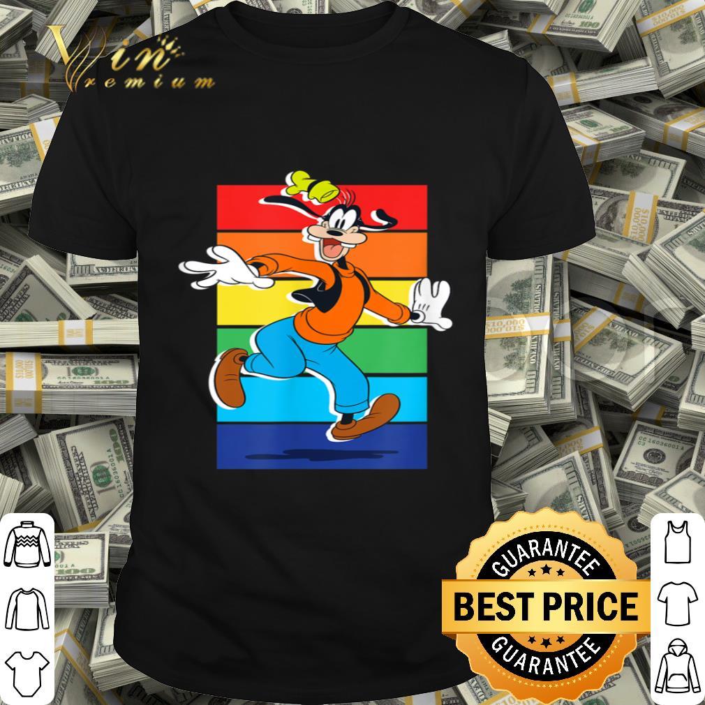 - Disney Goofy Rainbow shirt