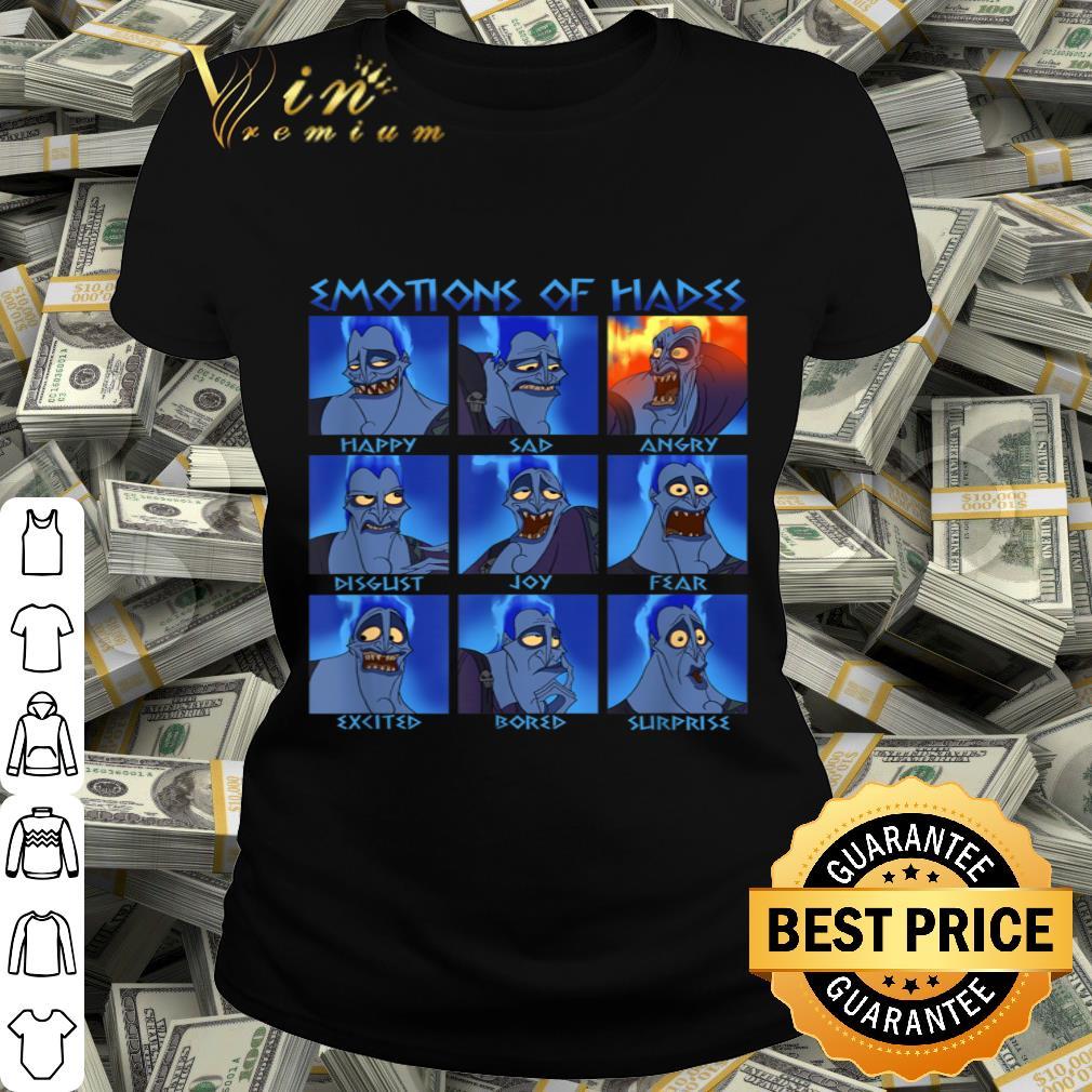 - Disney Hercules Hades Emotions Graphic shirt