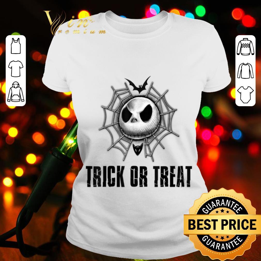 - Disney Jack Skellington Trick or Treat Web shirt