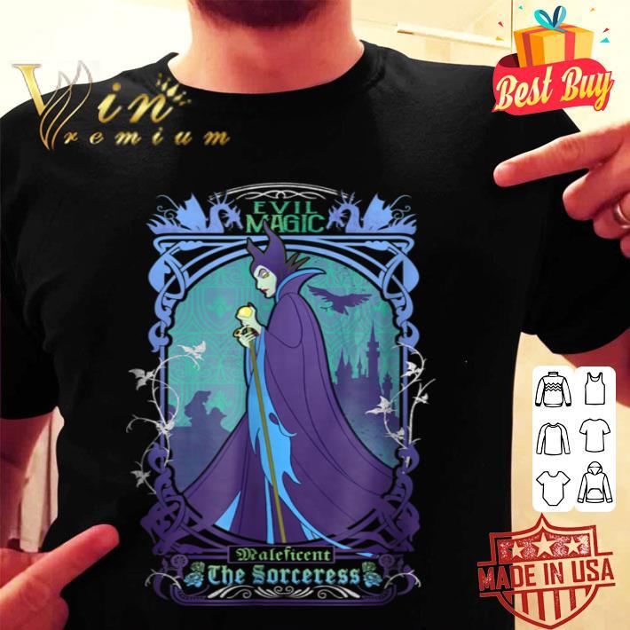 - Disney Maleficent The Sorceress Deep Purple Graphic shirt