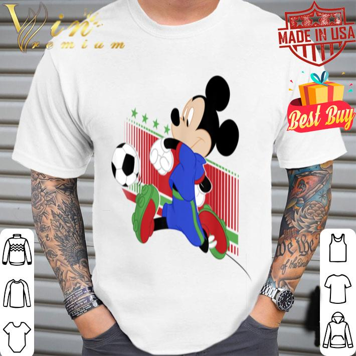 - Disney Mickey And Friends Mickey Mouse Italy Soccer shirt