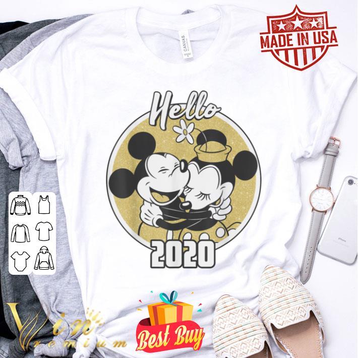 - Disney Mickey and Minnie Hello 2020 shirt