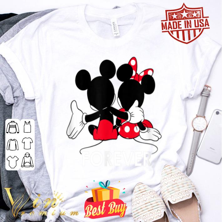 - Disney Mickey and Minnie Mouse Silhouettes Forever shirt