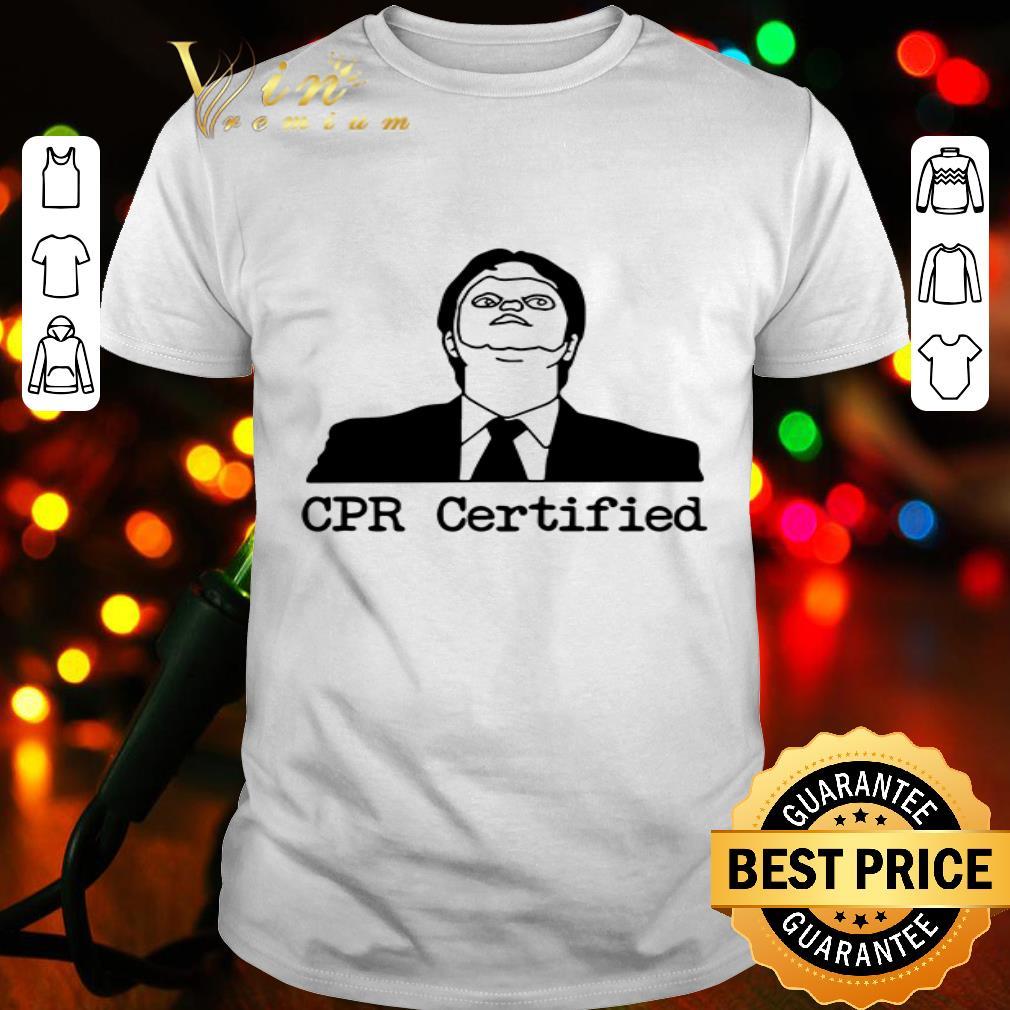Dwight Schrute CPR Certified shirt