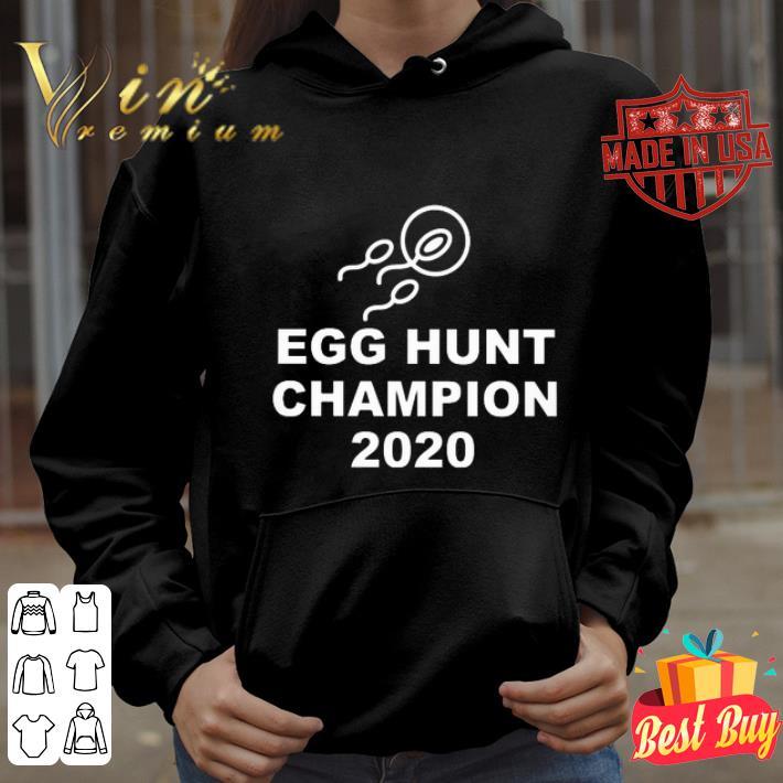 Egg hunt champion 2020 easter couple shirt