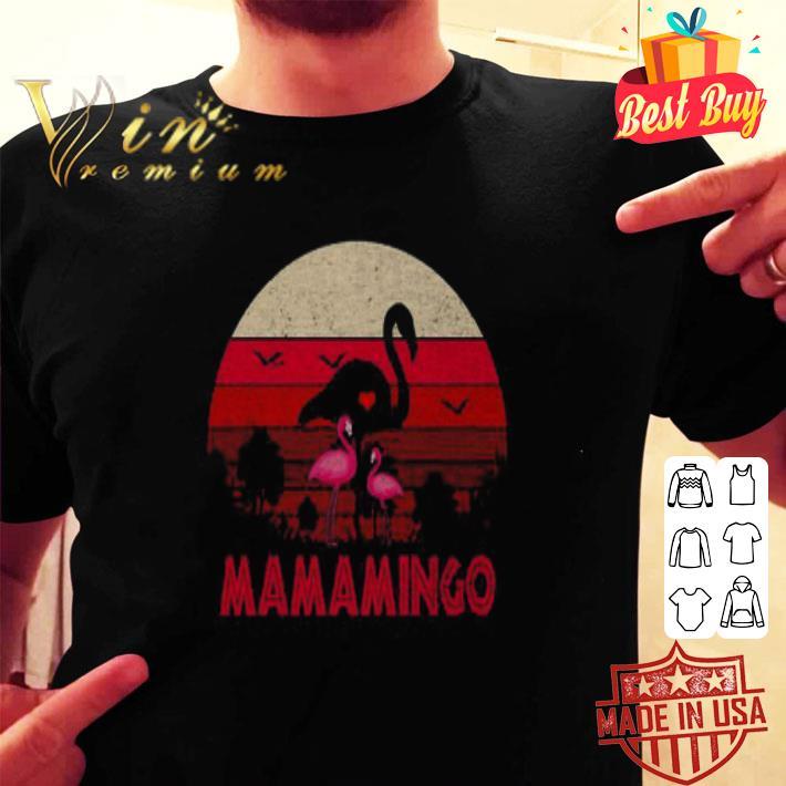 Flamingos Mamamingo sunset shirt