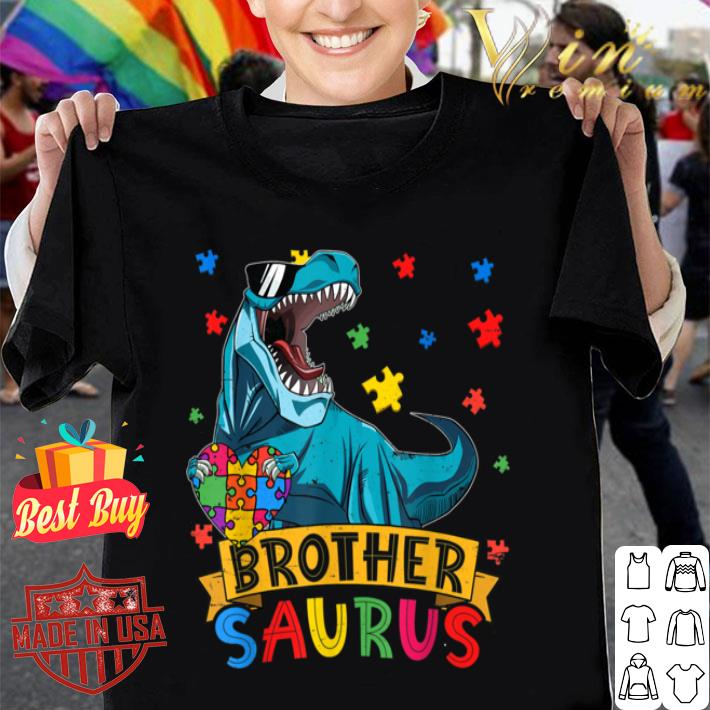 Funny Brothersaur Dinosaur Brother Autism Awareness Gifts B085FR3R6N shirt