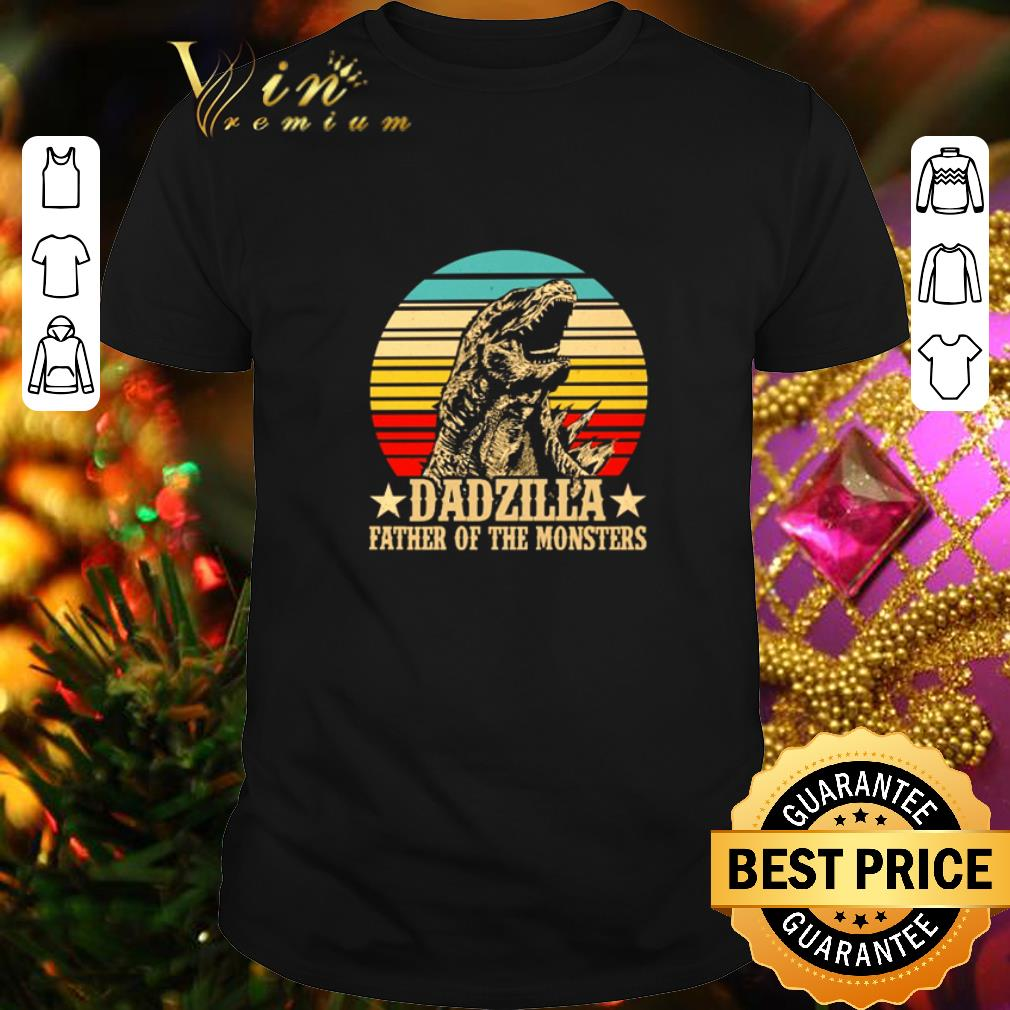 - Gorilla Dadzilla father of the monsters vintage shirt