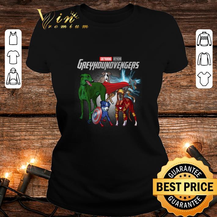 - Greyhound Marvel Avengers Endgame Greyhoundvengers shirt
