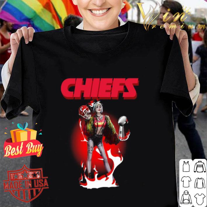 Harley Quinn Kansas City Chiefs Super Bowl LIV shirt