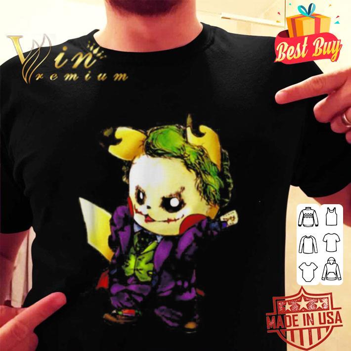 Joker mashup Pikachu shirt