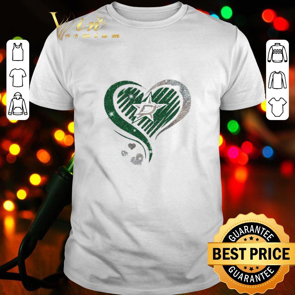 - Love Dallas Stars Diamond Heart shirt