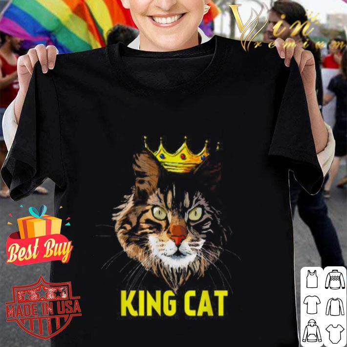 Maine Coon king cat shirt