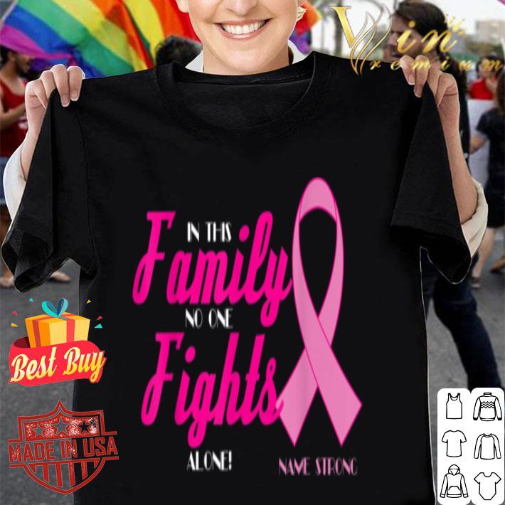 - Name Strong - Breast Cancer Awareness shirt