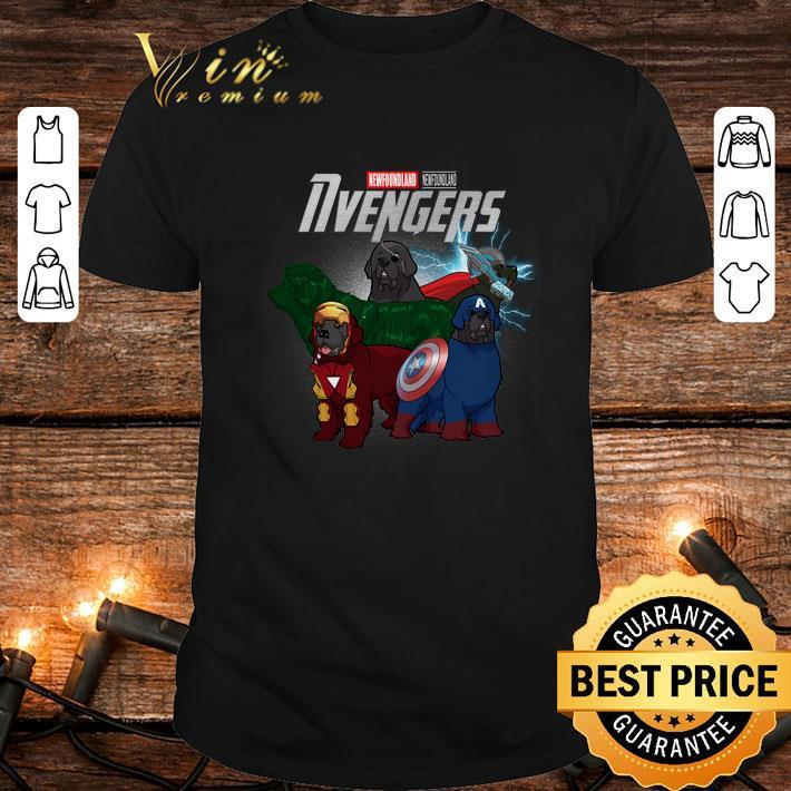 - Newfoundland Marvel Avengers Endgame Nvengers shirt