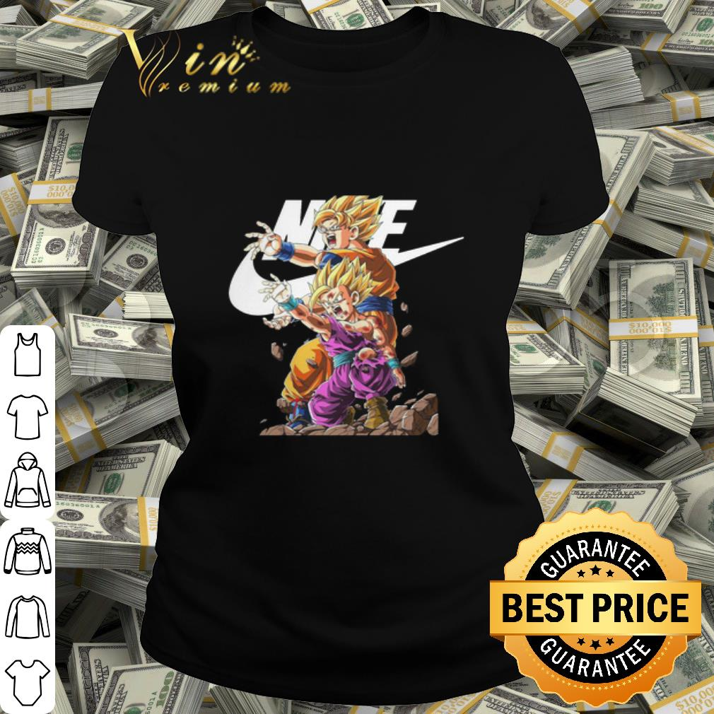 - Nike Son Goku and Gohan Dragon Ball Z shirt