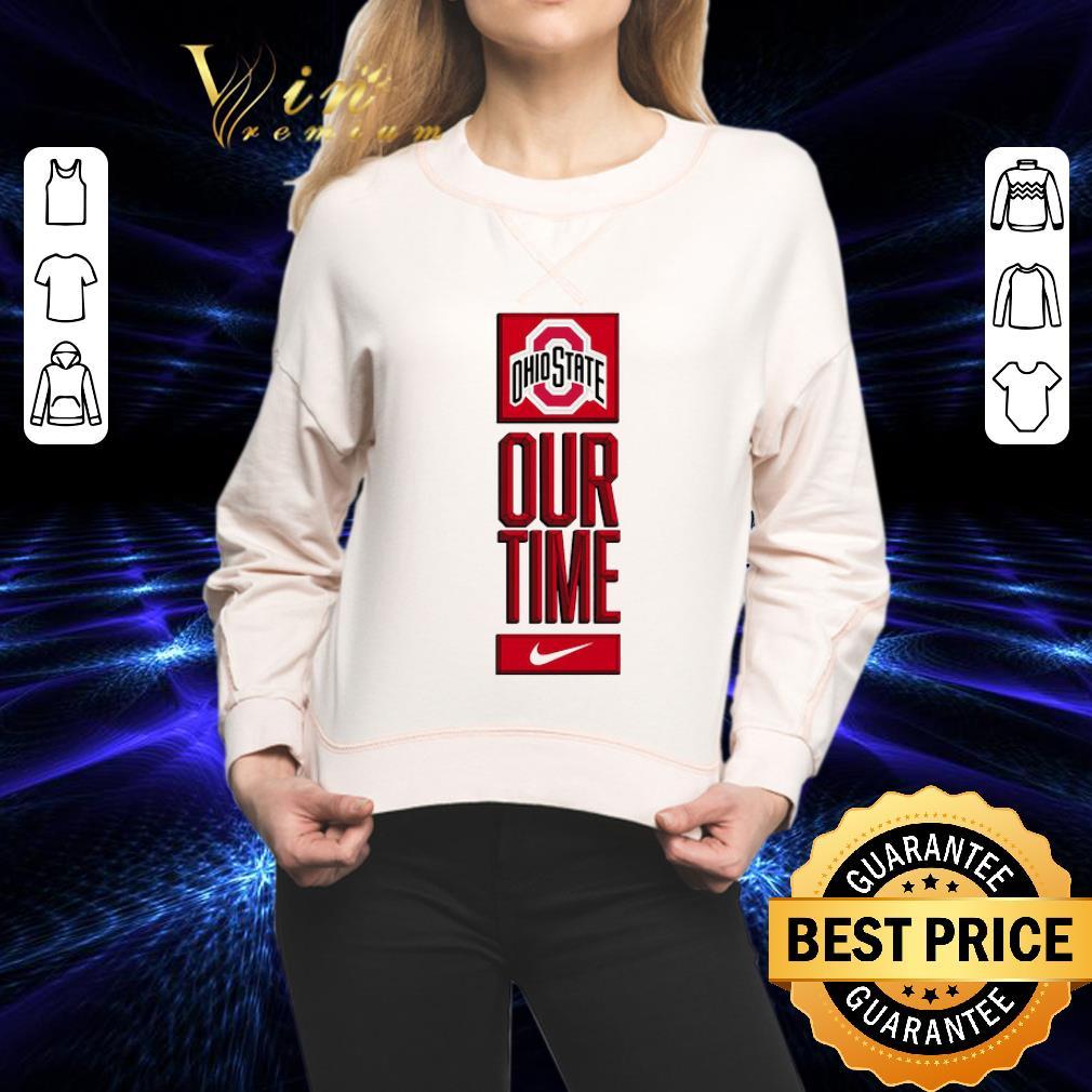 - Ohio State Buckeyes logo basketball Our Time 2020 shirt