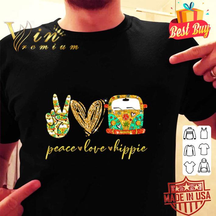 Peace love Hippie bus shirt