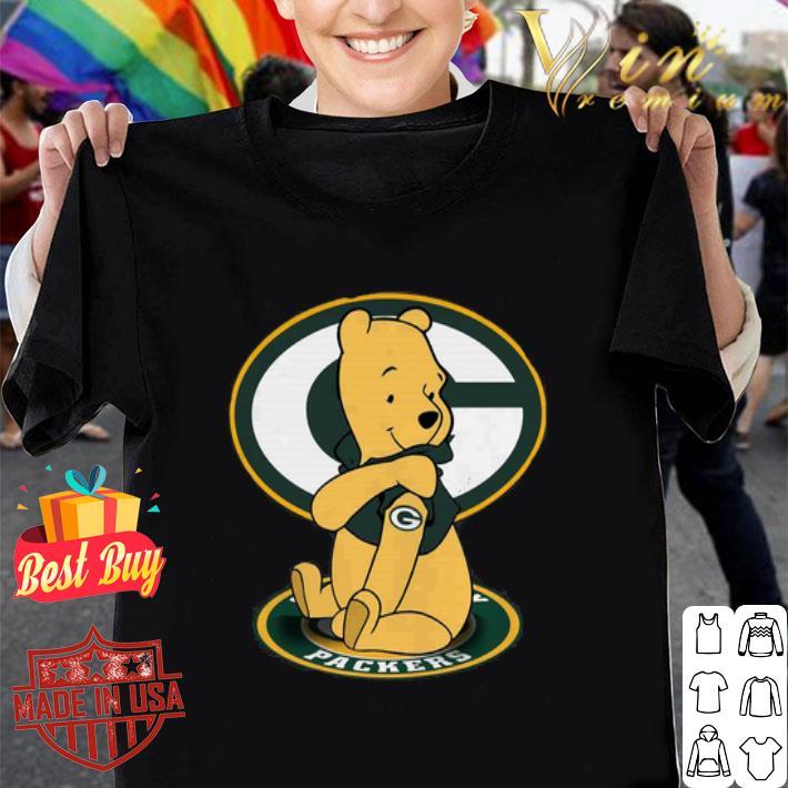 - Pooh Tattoo Green Bay Packers logo shirt