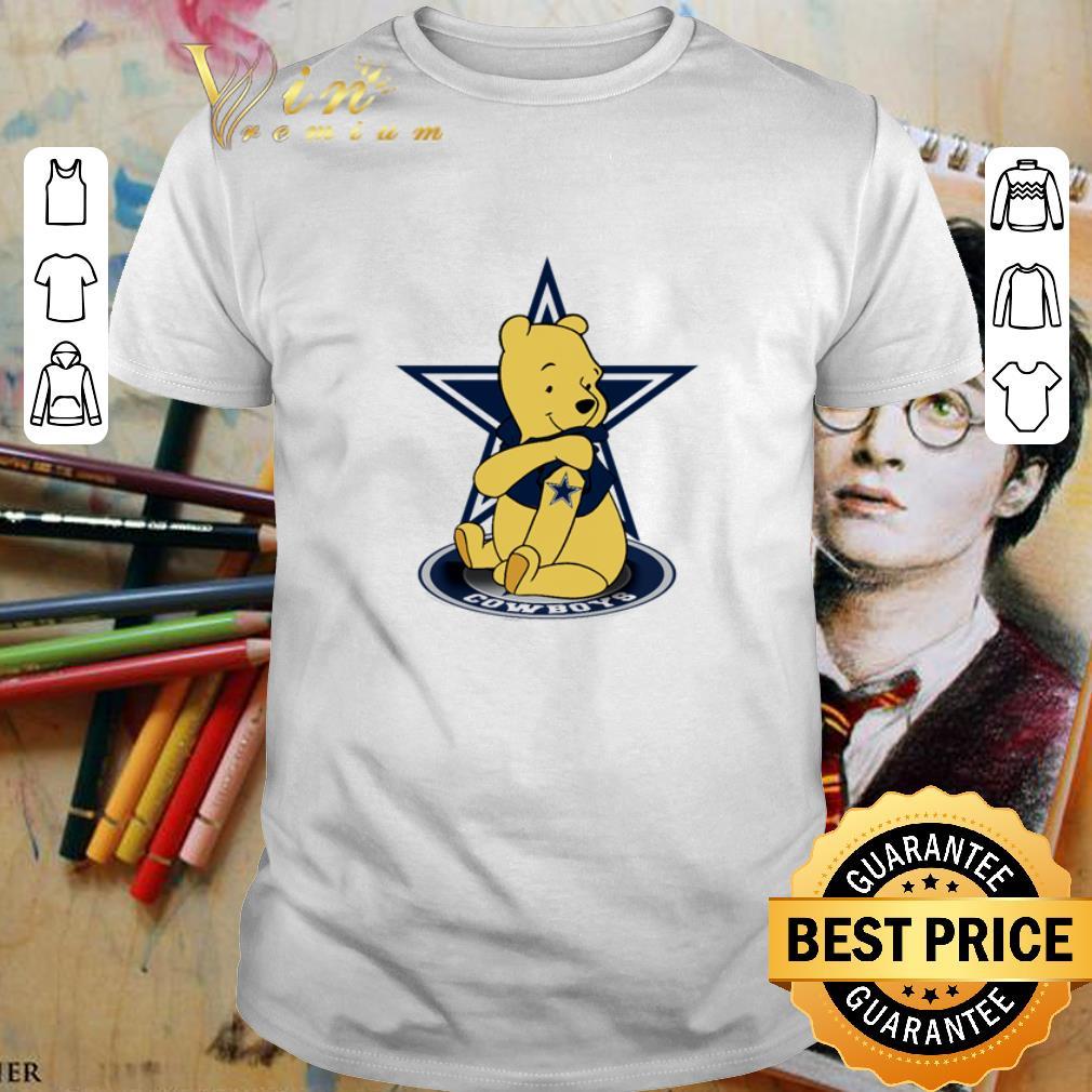 - Pooh tattoos Dallas Cowboys logo shirt