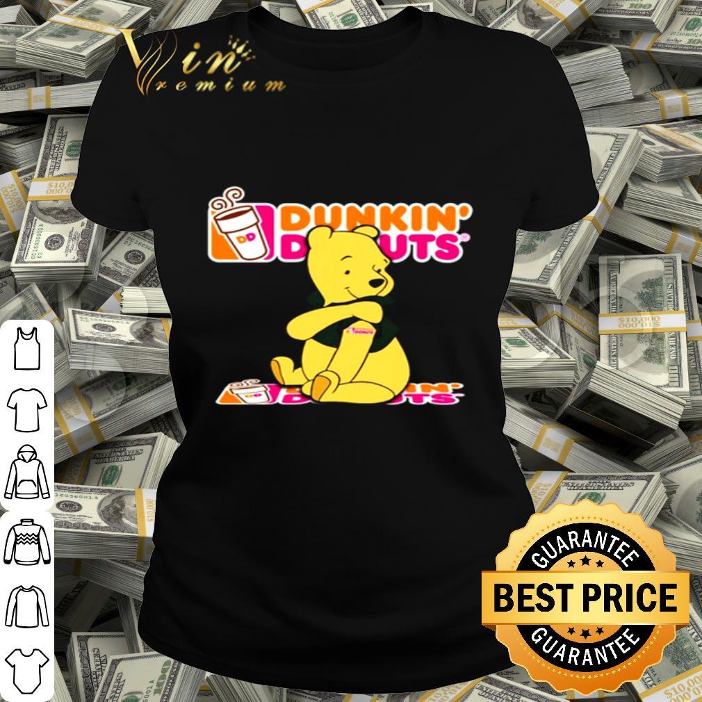 Pooh tattoos Dunkin Donuts logo shirt